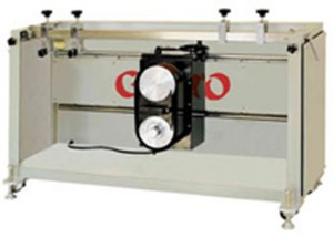 AGOA COMPACT SEMI-AUTOMATIC SQUEEGEE GRINDER