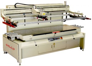 PULVO-MAXI-C Large Format 3/4-Automatic Screen Printing Machine